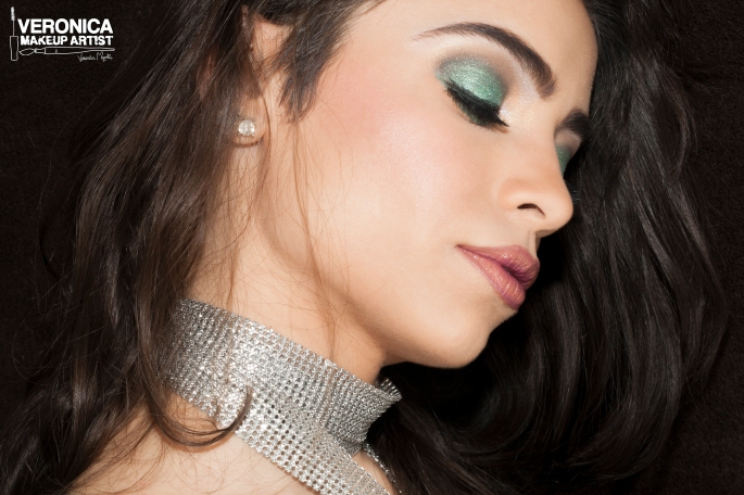 Shimmer eye makeup 2015